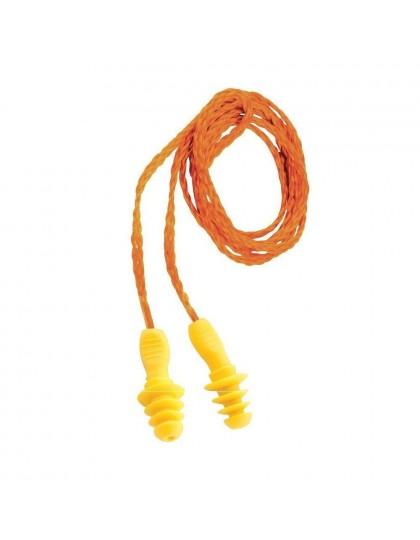 Ausų kamšteliai P201, su tekstiline virvele