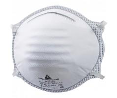 Respiratorius M1100 FFP1 NR D be vožtuvo, dirželiai per galvą