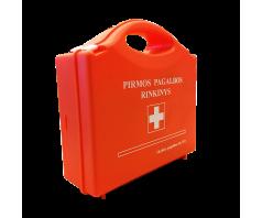 Įmonės pirmos pagalbos rinkinys oranžinėje dėžutėje  (nauja komplektacija)