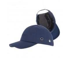 Šalmas-kepurė su snapeliu BUMPCAP, tamsiai mėlyna