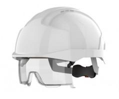 Šalmas JSP EVO®VISTAlens® su integruotais apsauginiais akiniais, be ventiliacinių angų