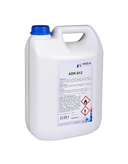 Alkoholinė priemonė higieninei rankų ir odos dezinfekcijai, ADK-612, 5 l