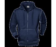Džemperis su užtrauktuku ir gobtuvu KANGOO MC3126