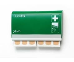 Dispenseris PLUM QUICKFIX 5501 su vandeniui atspariais pleistrais, (2x45 vnt. pleistrų)