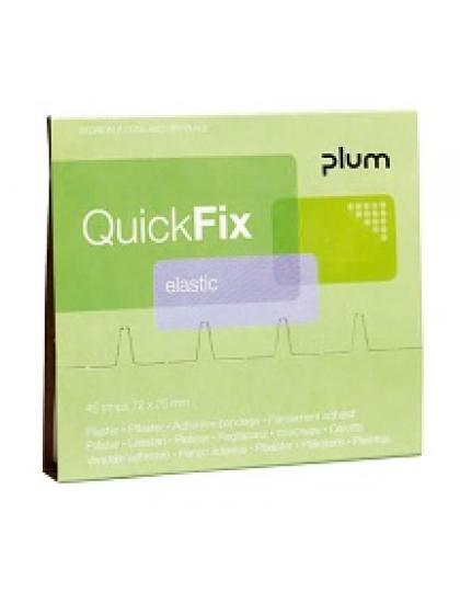 Elastiniai pleistrai  QUICKFIX 5512 PLUM (1 pak. -  45 vnt.)