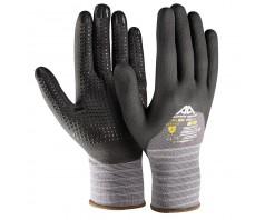 Pirštinės Active FLEX F3150 iš OEKO-TEX®  100 medžiagos, aplietos 3/4 nitrilo puta
