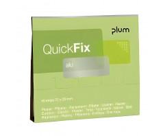 Pleistrai  PLUM QUICKFIX ALU 5515 (1 pak. - 45 vnt.)