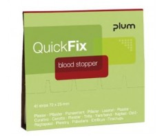 Pleistrai PLUM QUICKFIX blood stopper 5516 (1 pak. - 45 vnt)