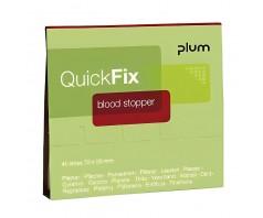 Pleistrai PLUM QUICKFIX blood stopper 5516 (1 pak. - 45 vnt)