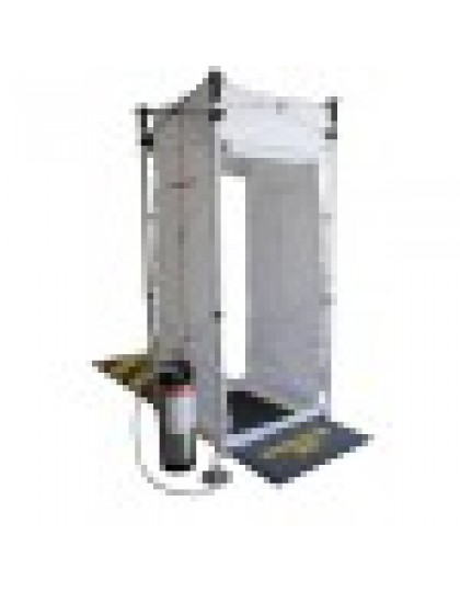 PORTAdec® 500 nešiojamas dezinfekavimo dušas
