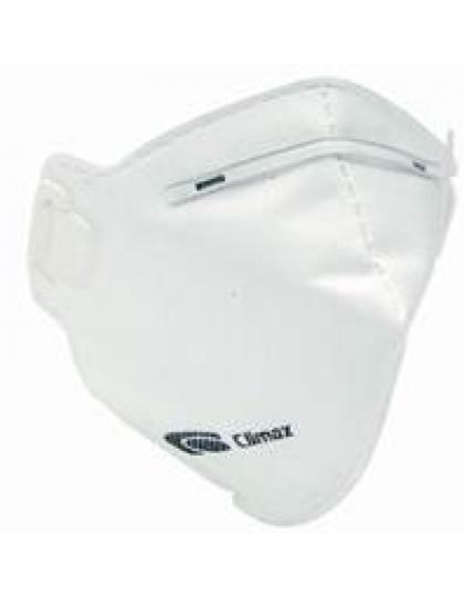 Respiratorius Climax 1720 FFP2 NR, be vožtuvo, dirželiai per galvą