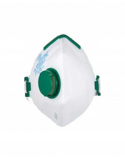Respiratorius FS-923V FFP2 NR D su vožtu, dirželiai per galvą