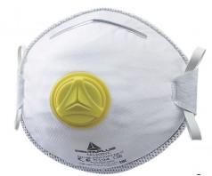 Respiratorius M1200V FFP2 NR D su vožtuvu, dirželiai per galvą