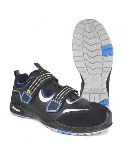 Sandalai su velkro užsegimu FORMULA3 S1P ESD SRC PEZZOL