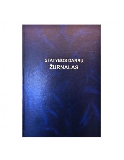 Statybos darbų žurnalas A4, 268 psl.