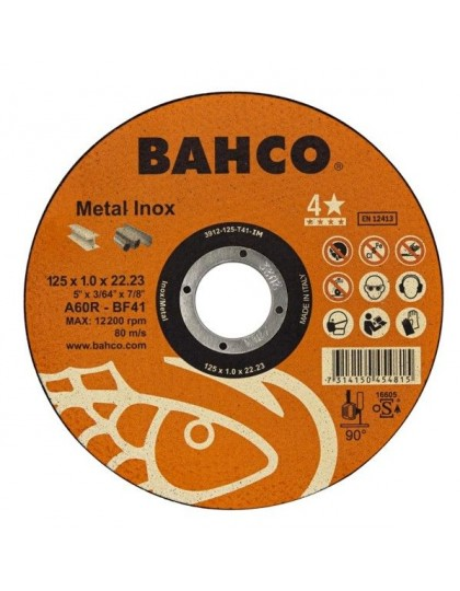 Abrazyvinis metalo ir nerūdijančio plieno pjovimo diskas 125x1.0x22.23mm