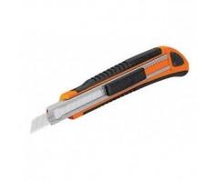 Sustiprintas gumuotas peilis laužomoms 9mm geležtėms