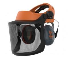 Veido apsauga JSP EVOGuard® M2 su tinkliniu skydeliu